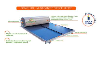 chauffe-eau solaire conersol